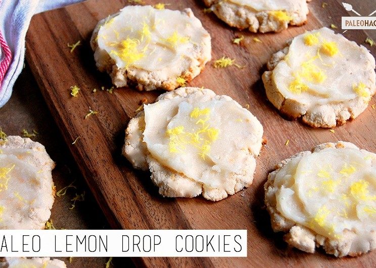 Paleo Lemon Drop Cookies