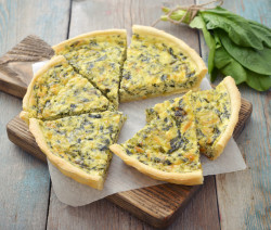 spinach-quiche